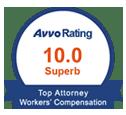 AVVO Top Attorney Worker's Compensation