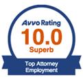 AVVO Top Attorney Employment