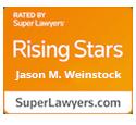 Super Lawyers Rising Star Jason M. Weinstock
