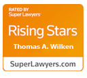 Super Lawyers Rising Star Thomas A. Wilken