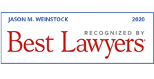 Jason M. Weinstock recognized by Best Lawyers